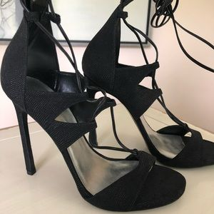 Brand new! Stuart Weitzman lace-up sandals